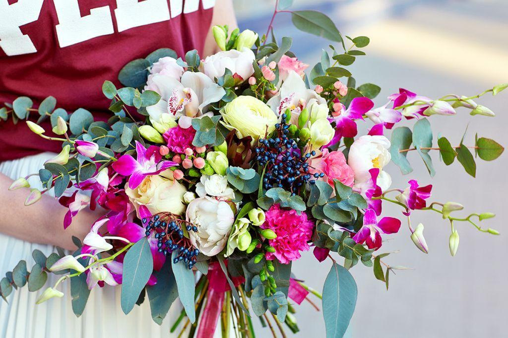 Доставка цветов удаленно где купить цветы ростов на дону